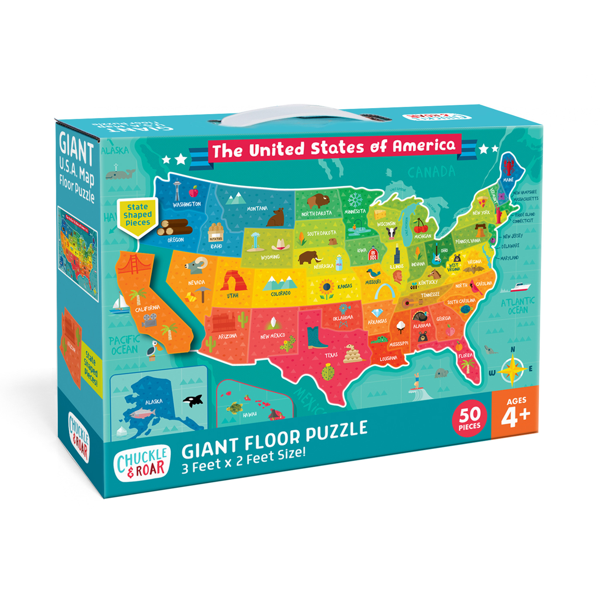 It's a great little tool for cutting wood, plywood, ceramic, tile and other surfaces. Usa Map 50 Piece Jigsaw Floor Puzzle