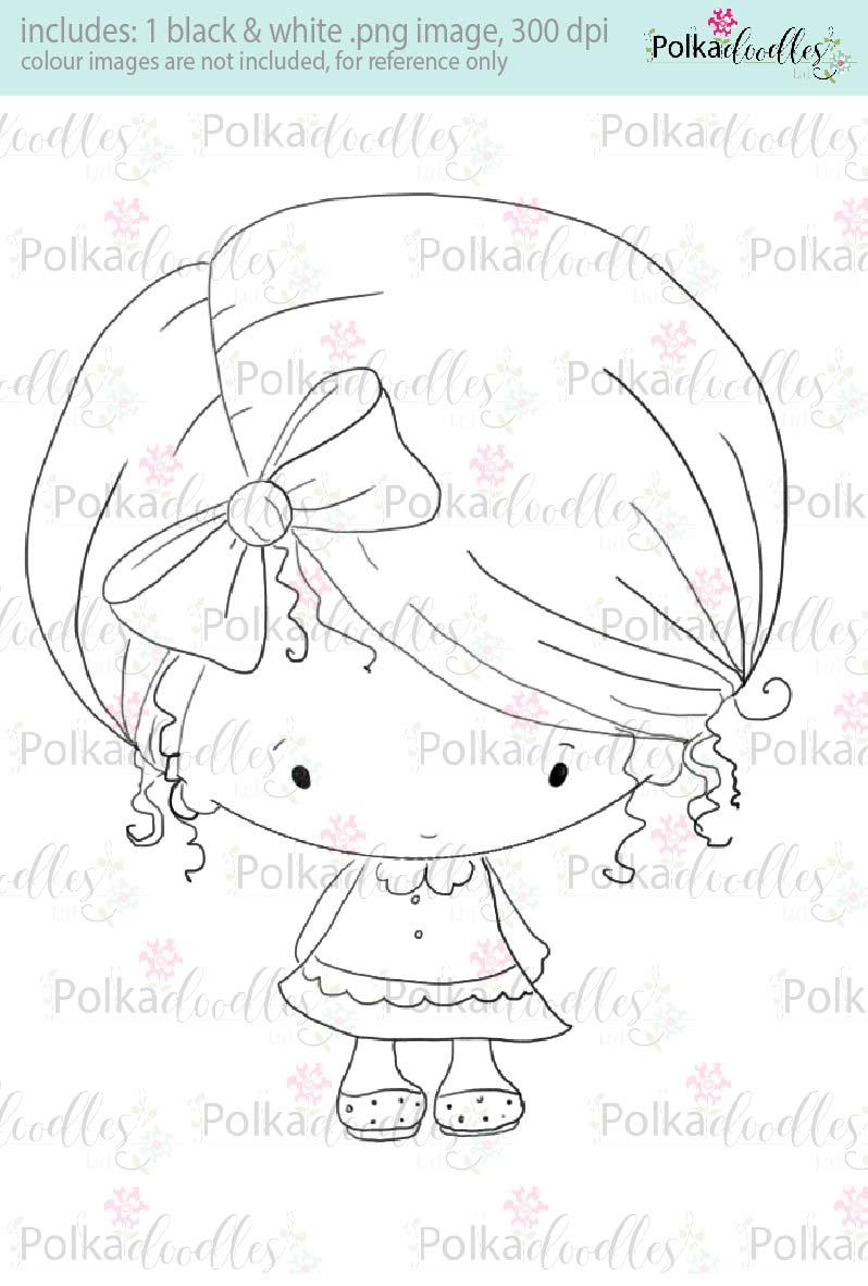 cute stamp lil miss