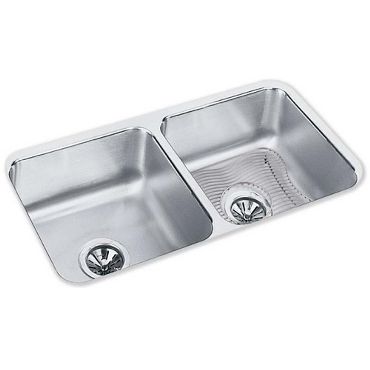 https www prodrinkingfountains com elkay eluh3116dbg equal double bowl sink