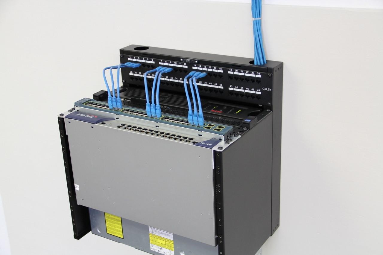 miniraq mrq100v06 6u 4u vertical 2u horizontal slim wall mount rack system