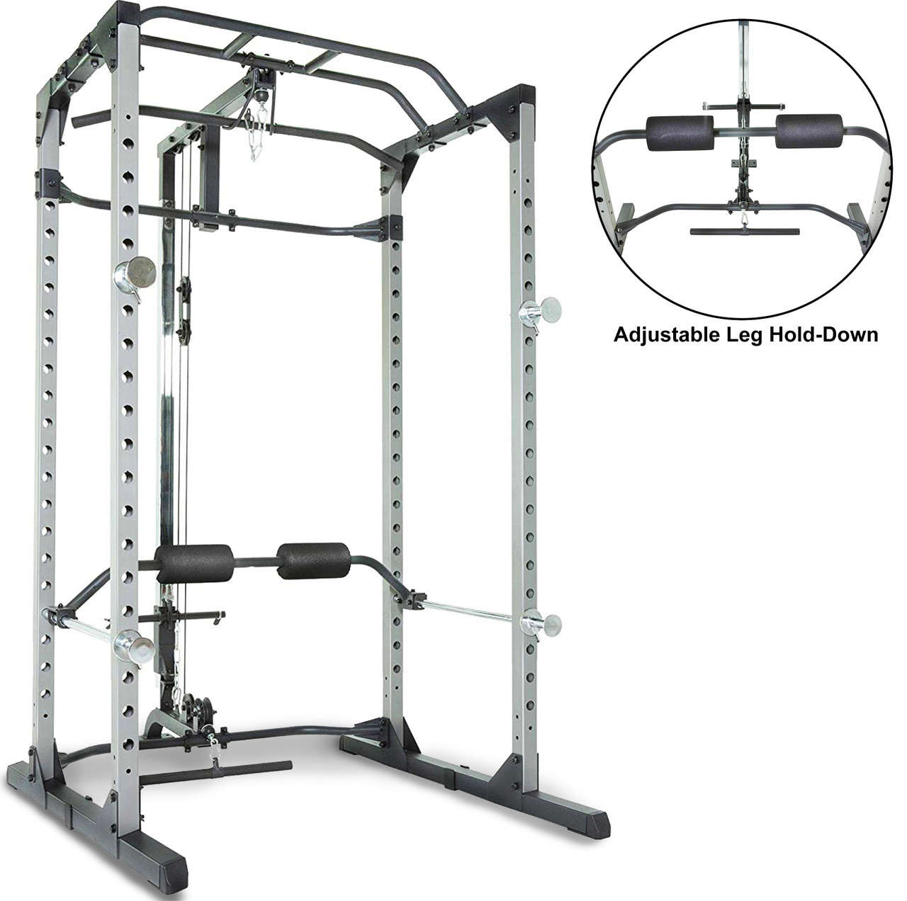 https fitnessreality com fitness reality 810xlt super max power rack cage with lat pull down and low row cable attachment