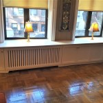 Custom Wall To Wall Built In Radiator Cover With Storage Gothic Furniture
