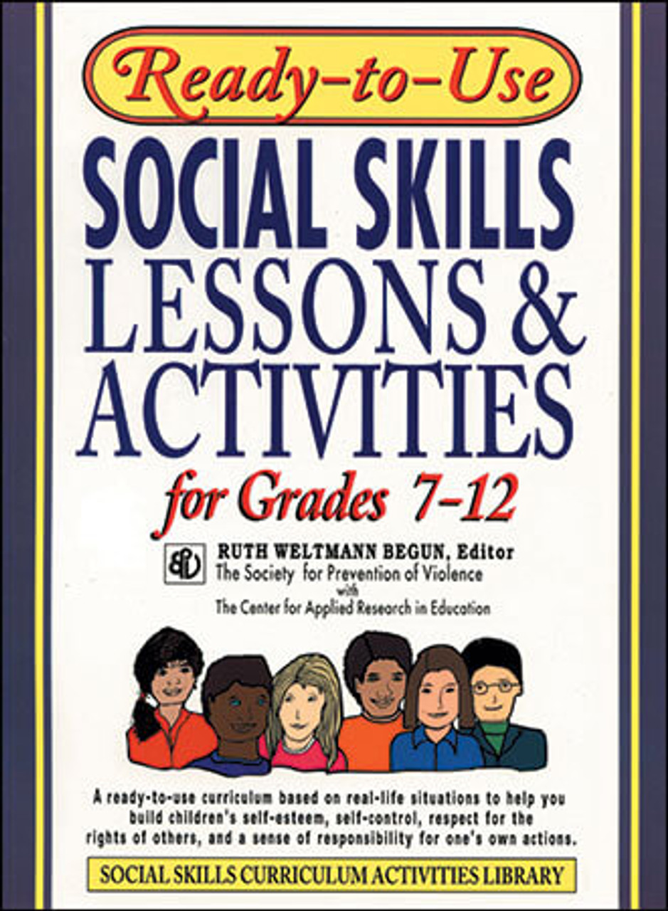 small resolution of Ready-to-Use Social Skills Lessons \u0026 Activities for Grades 7-12   Boys Town  Press