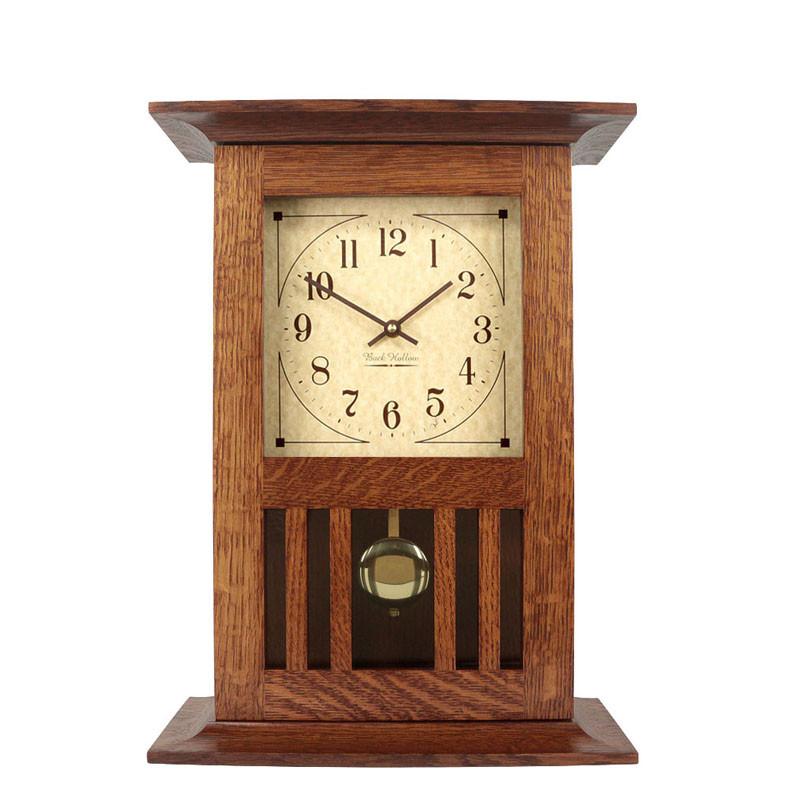 Mission Style Mantel Clocks