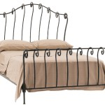 King Size Wrought Iron Bed Forged Iron Bed