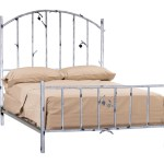 Whisper Creek Hand Forged Iron Bed King Complete