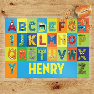 personalized placemats for kids