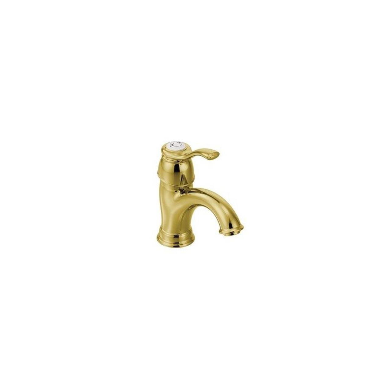 Moen 6102p Kingsley 1 Handle Single Hole Bathroom Faucet