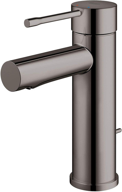 grohe essence 32216a0a small size single handle bathroom faucet in hard graphite