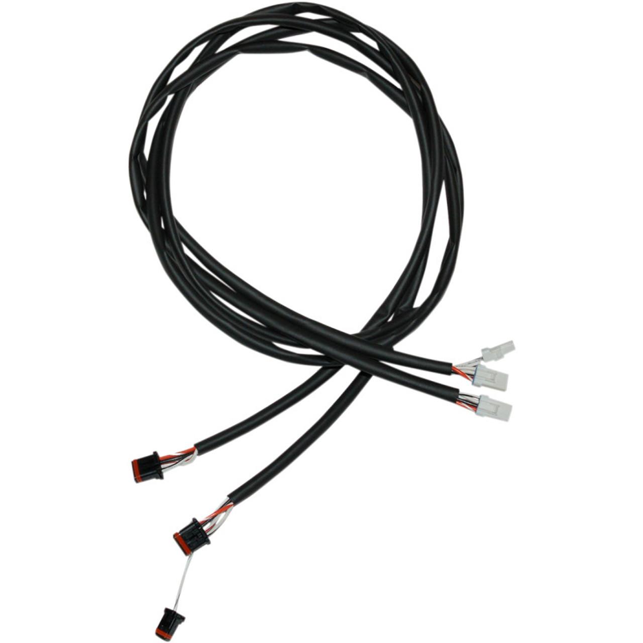 namz handlebar extension wiring harness for 2014 2018 harley touring harley throttle by wire extension in addition harley davidson wiring [ 1280 x 1280 Pixel ]