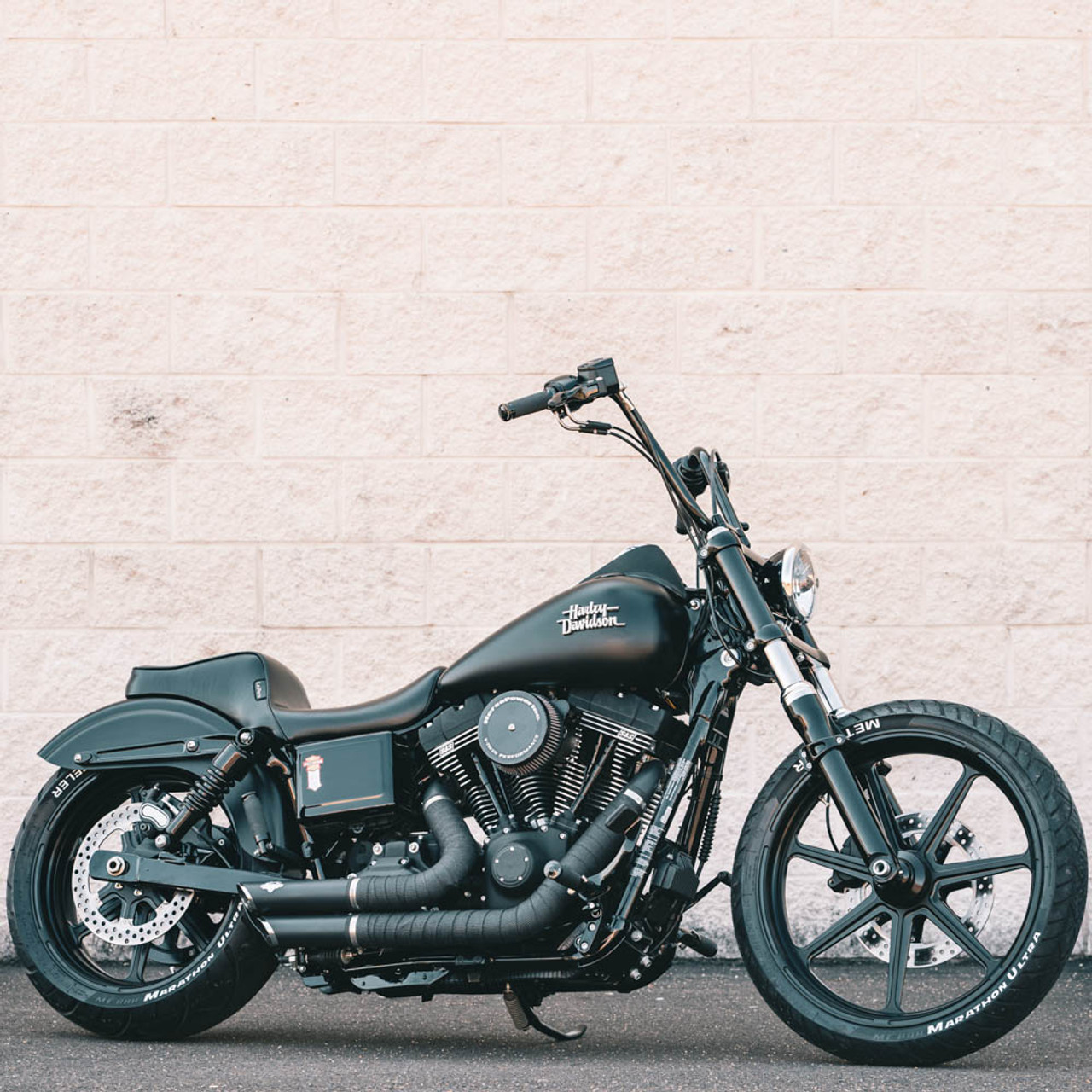 lepera cherokee seat for 2006 2017 harley dyna smooth  [ 1280 x 1280 Pixel ]