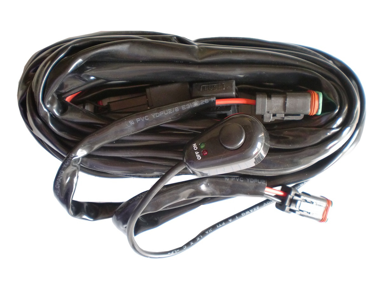 hight resolution of led work light wiring harness
