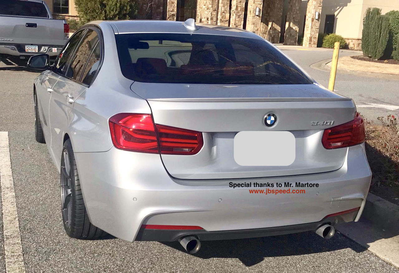 small resolution of bmw f80 m3 style painted spoiler for f30 free shipping super quality jbspeed
