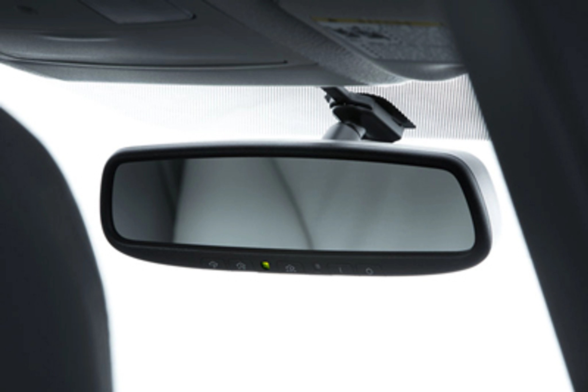 auto dimming mirror with homelink for 2012 2018 toyota prius c [ 2048 x 1367 Pixel ]