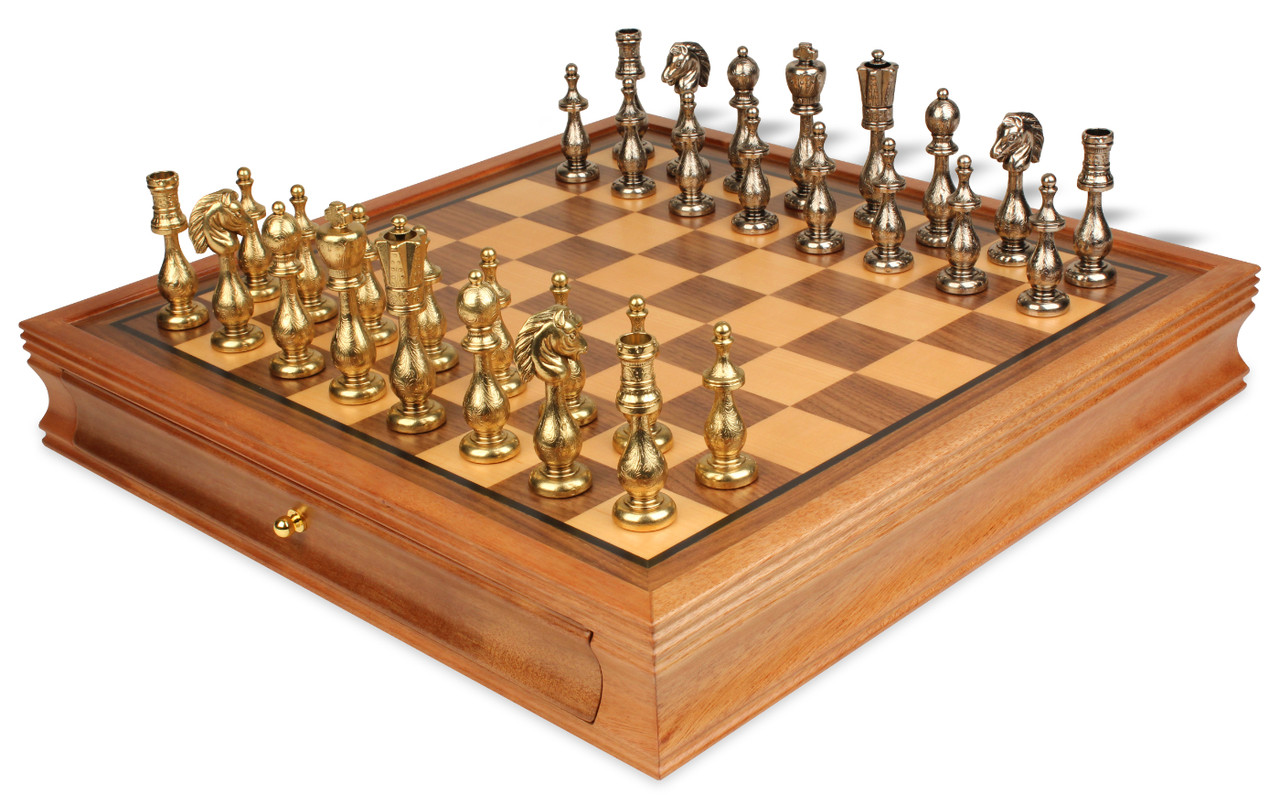 Chess Set With Case