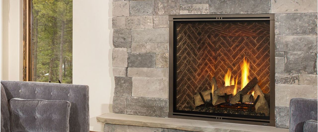 majestic marquis ii 42 direct vent gas fireplace with intellifire touch ignition ng