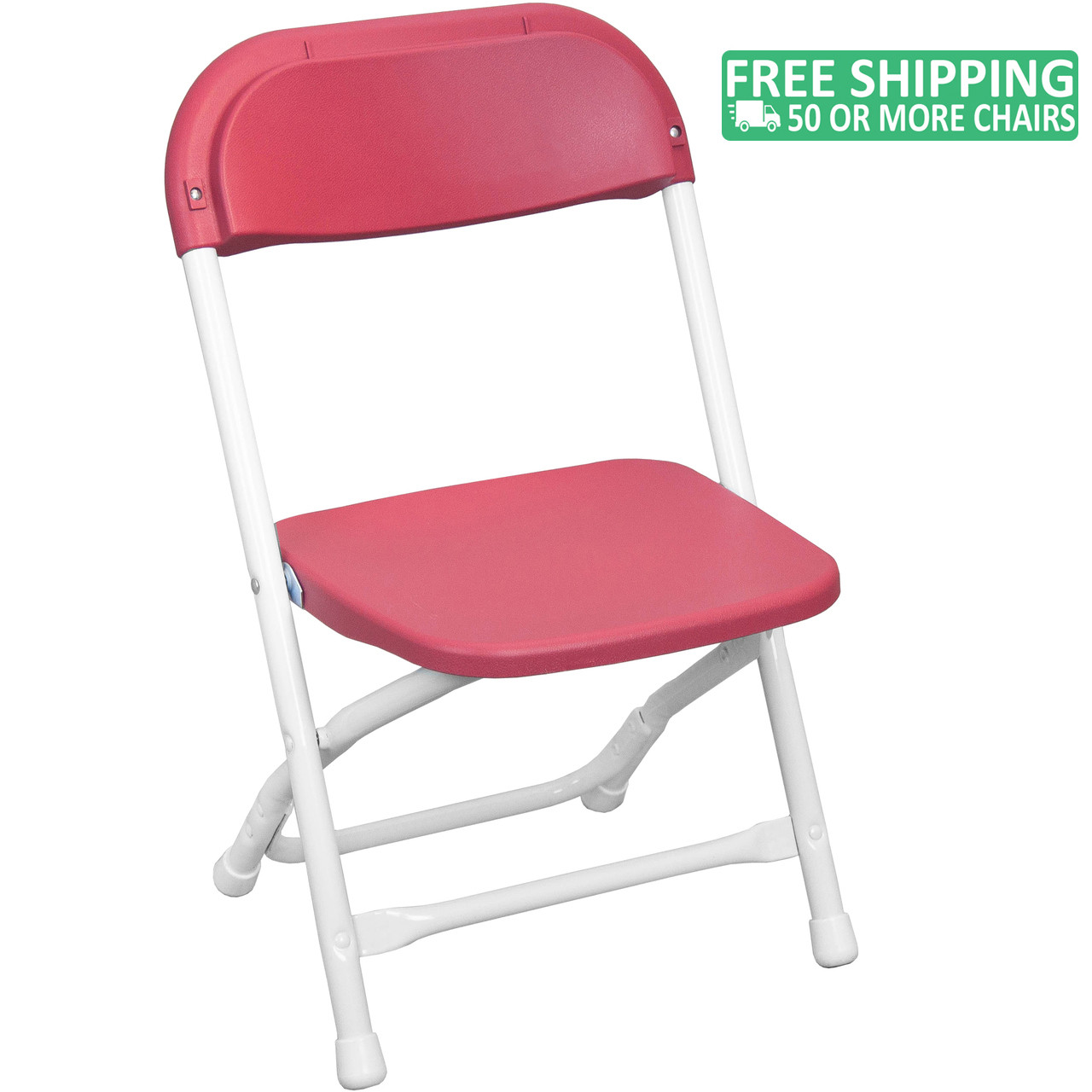 Plastic Kids Chairs Advantage Kids Red Plastic Folding Chair Ppfckid Red