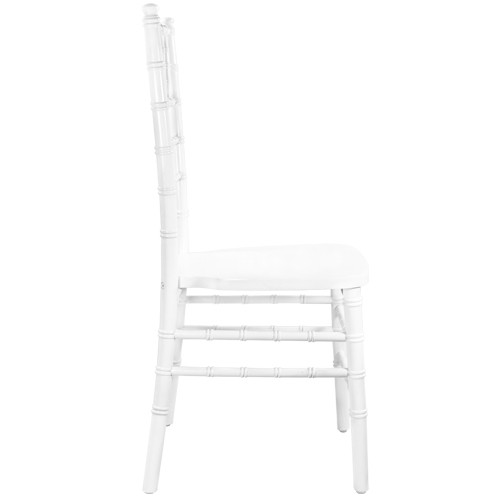 plastic chiavari chair wicker replacement cushions outdoor white wood chairs for sale advantage wdchi w