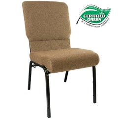 Free Church Chairs Santa Hat Chair Covers Target Mixed Tan 18 5 In Wide Pcht185 105 Advantage