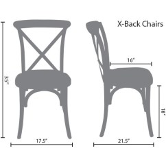 White X Back Chair Personalized Makeup Chairs Natural Nwg Ec Advantage With Grain