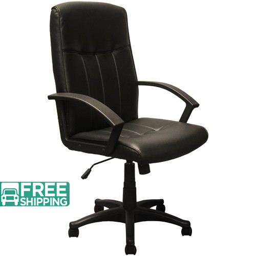 leather executive office chair whalen astoria high back black chairs kb 3001 swivel write a review