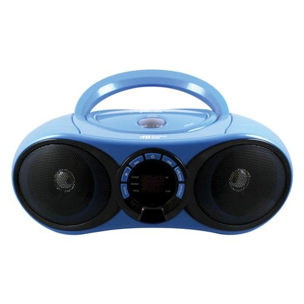 medium resolution of front of audiomvp boombox cd fm media player with bluetooth receiver