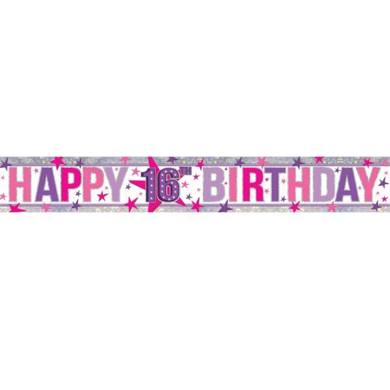 holographic happy 16th birthday