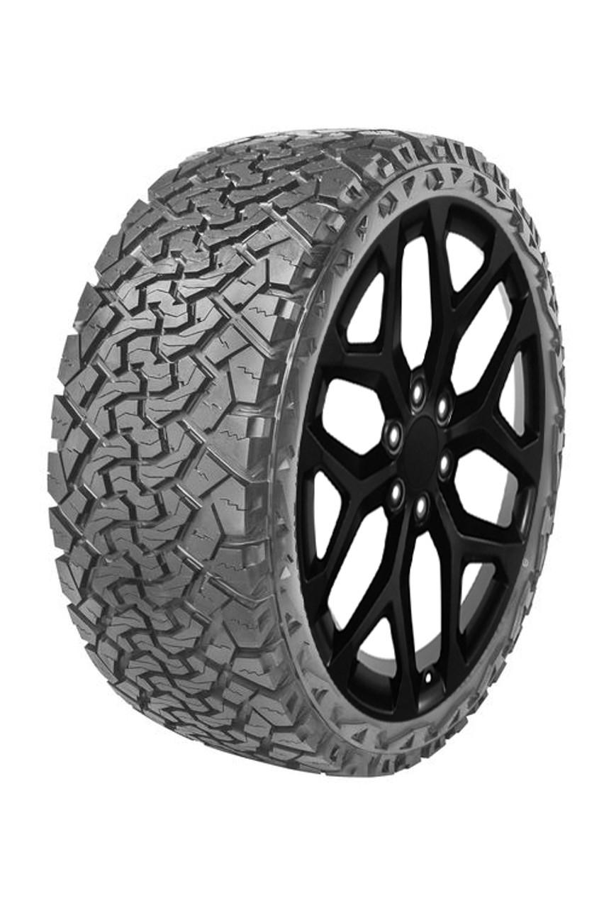 2020 Ram 1500 24 Inch Wheels : wheels, Gloss, Black, Snowflake, Wheels, Venom, Tires
