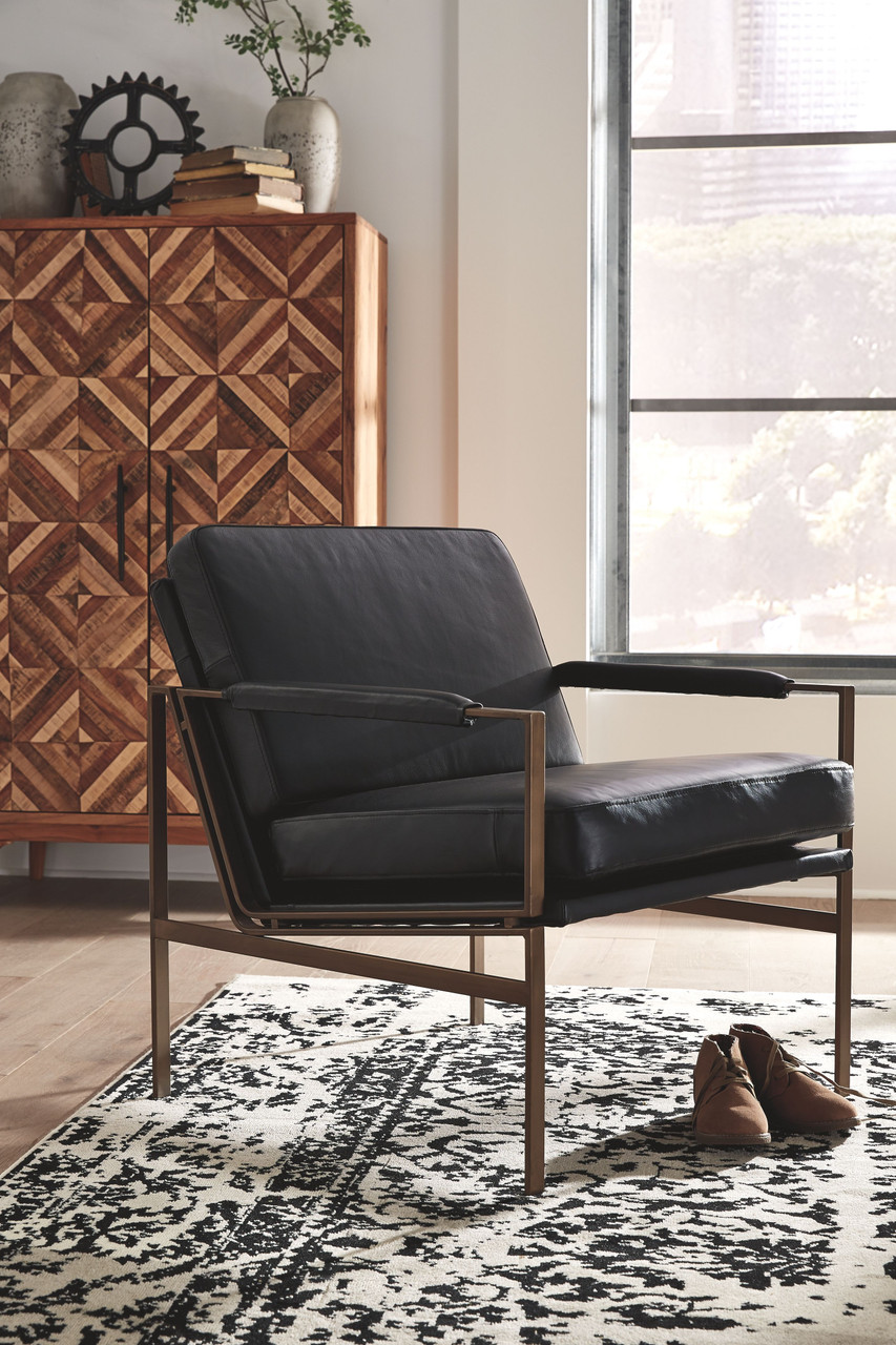 Puckman Black Accent Chair On Sale At American Furniture Of Slidell Serving Slidell La