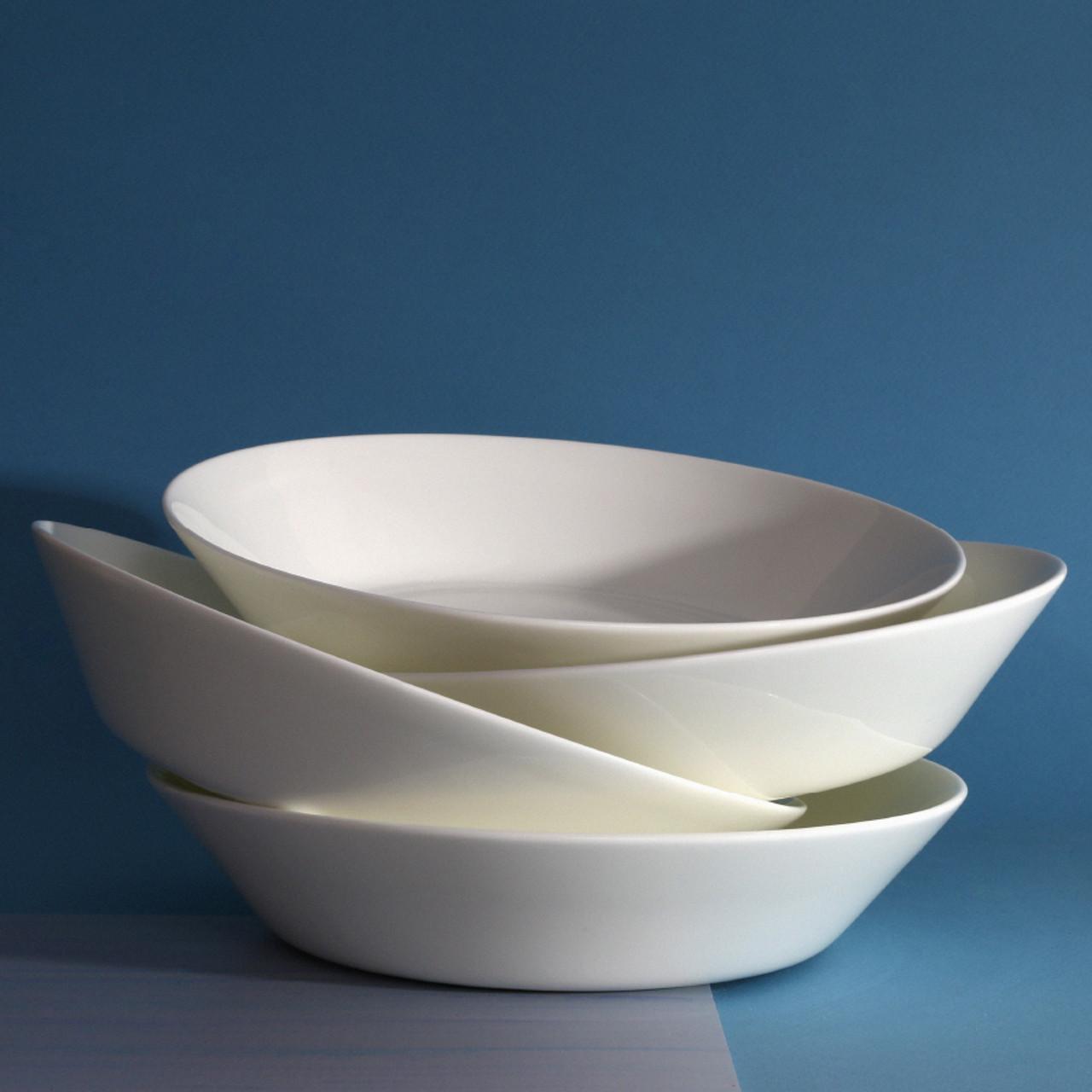 lotus pasta bowl 4 piece set