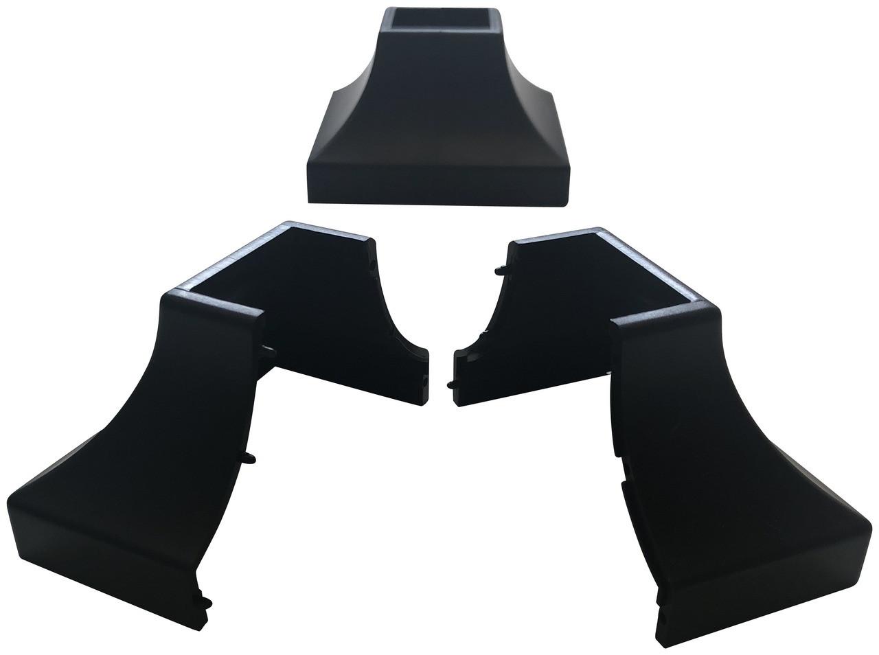 2 abs plastic square