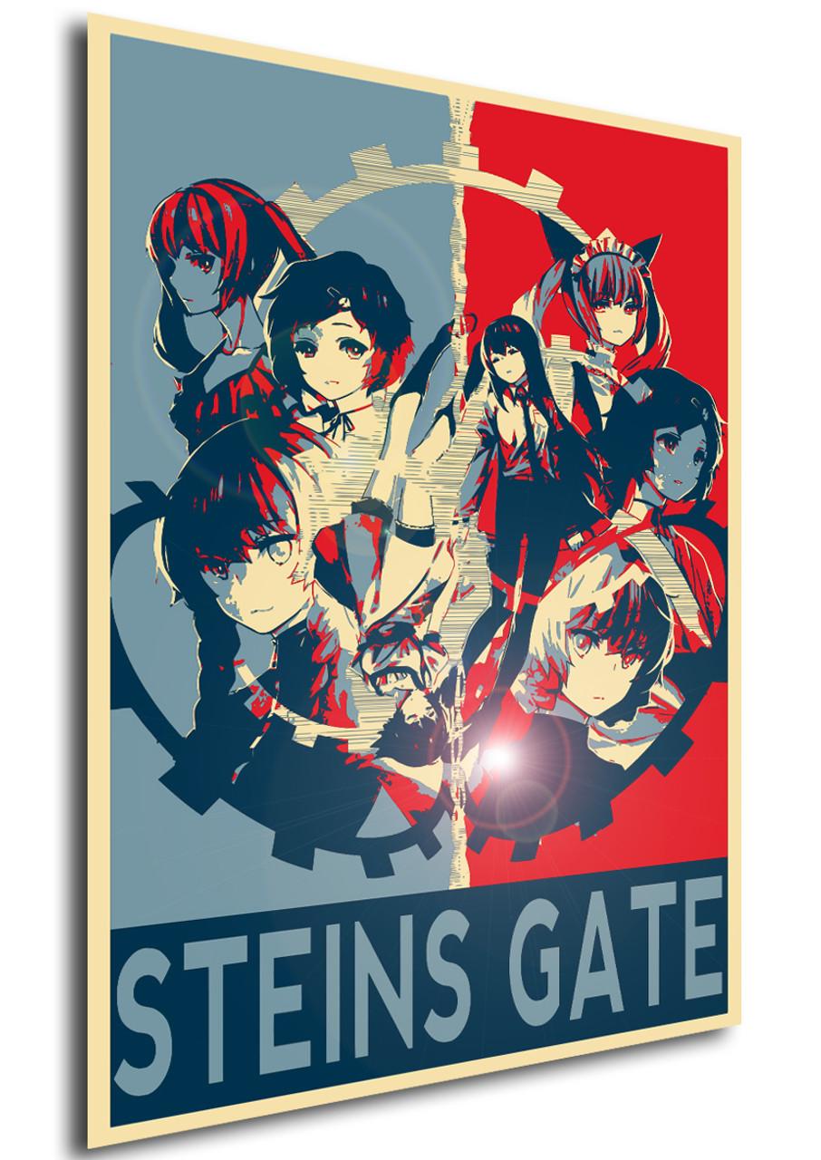 poster propaganda steins gate