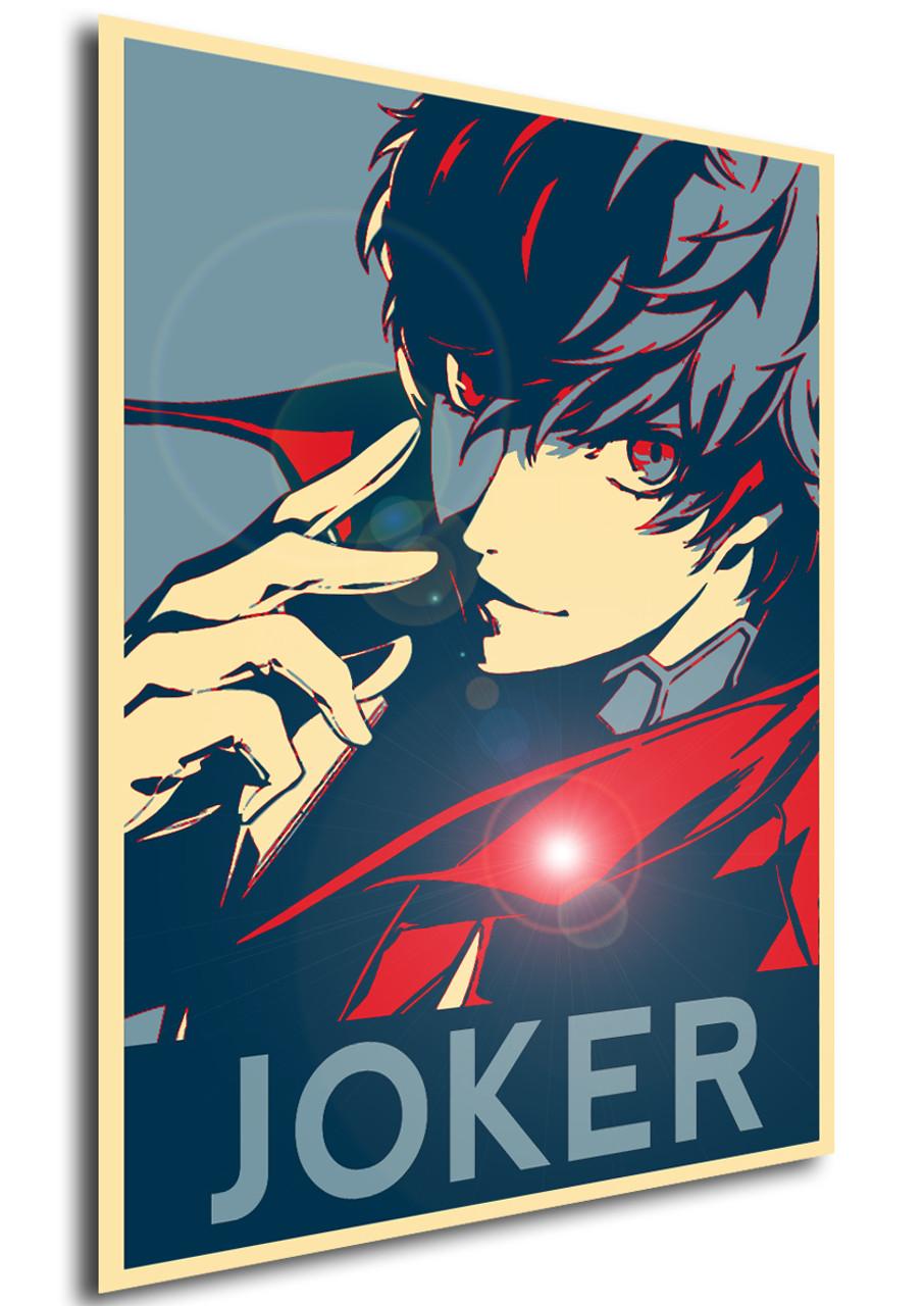 poster propaganda persona 5 joker