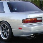 1989 1994 Nissan 240sx S13 Silvia Jdm Rear Valance For Coupe Only Forcewerkz Aero Usa