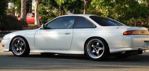 1997 1998 Nissan 240sx S14 Rear Bumper Valances For Jdm