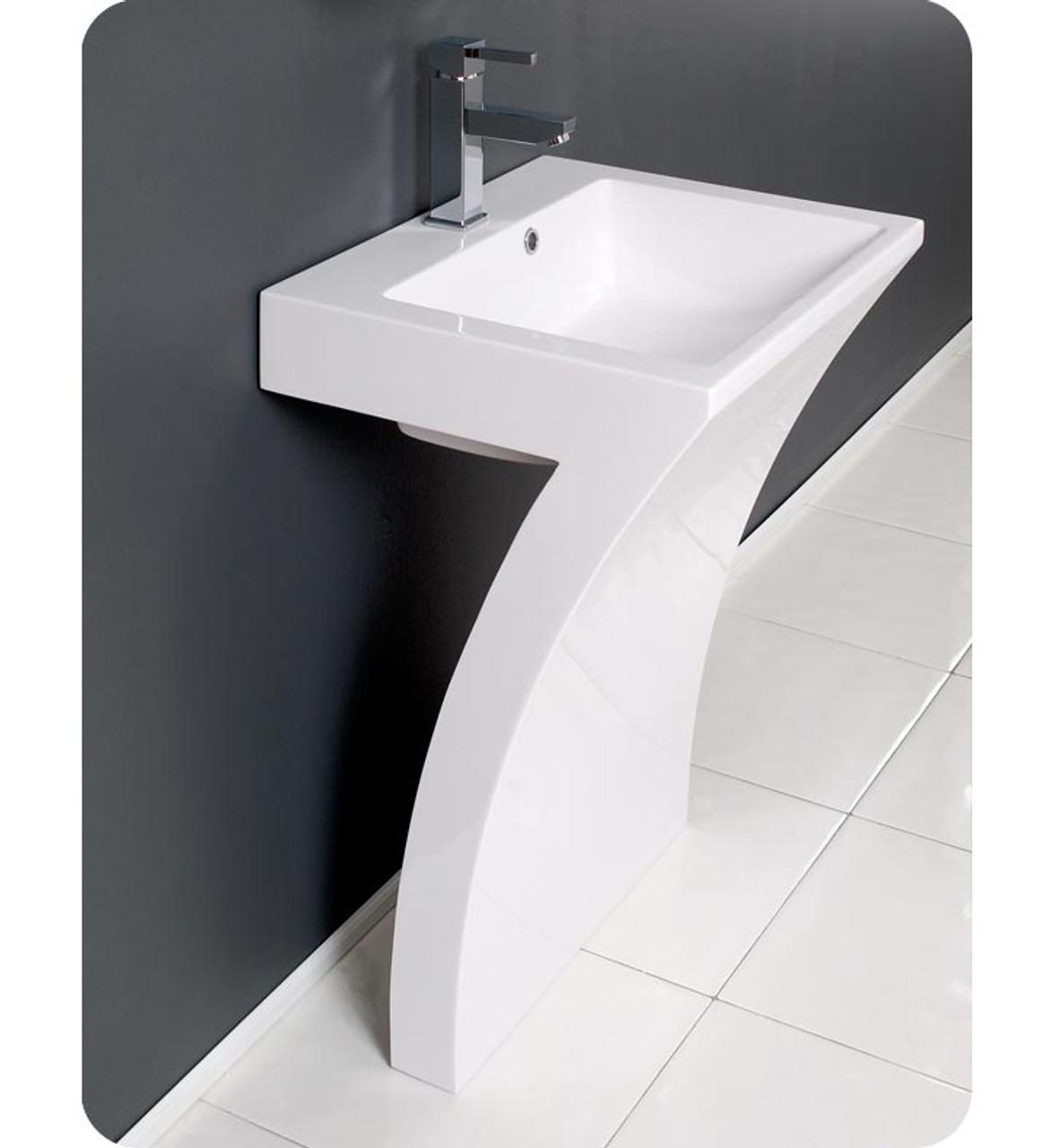lv 777 lucky seven 22 1 2 wide pedestal bathroom sink vanities combo with faucet