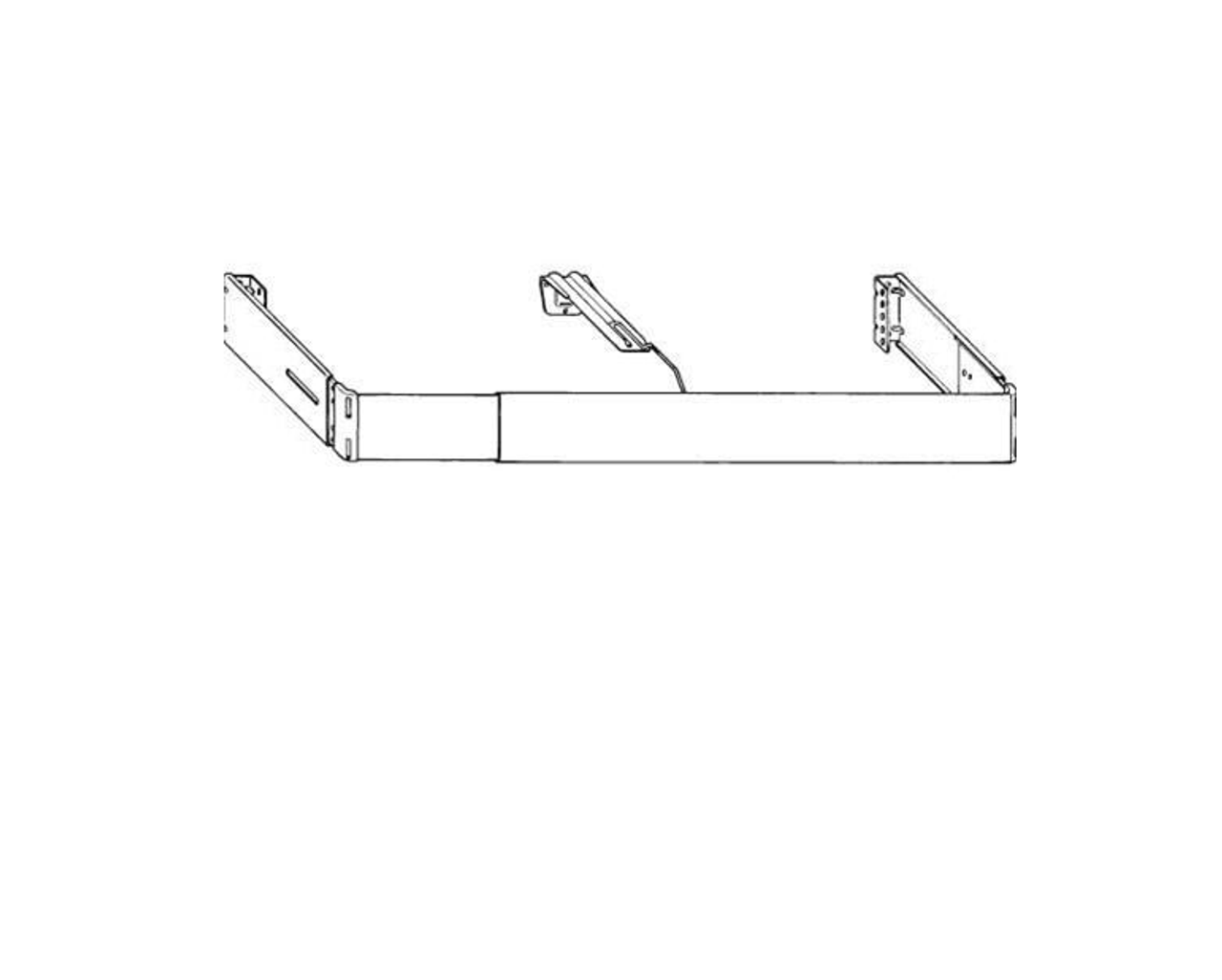 kirsch 2 1 2 continental ii valance rod kit price vary based on length selected