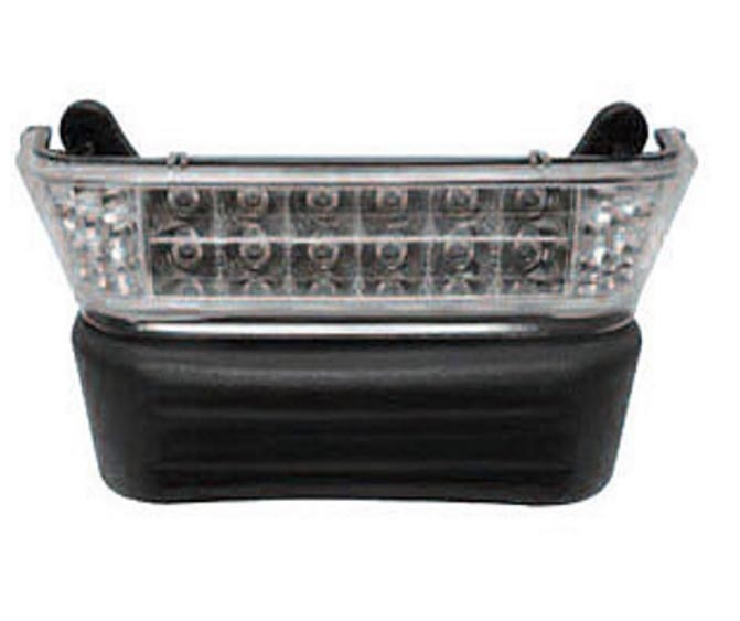medium resolution of led headlight bar for club car precedent front bumper with light bar only