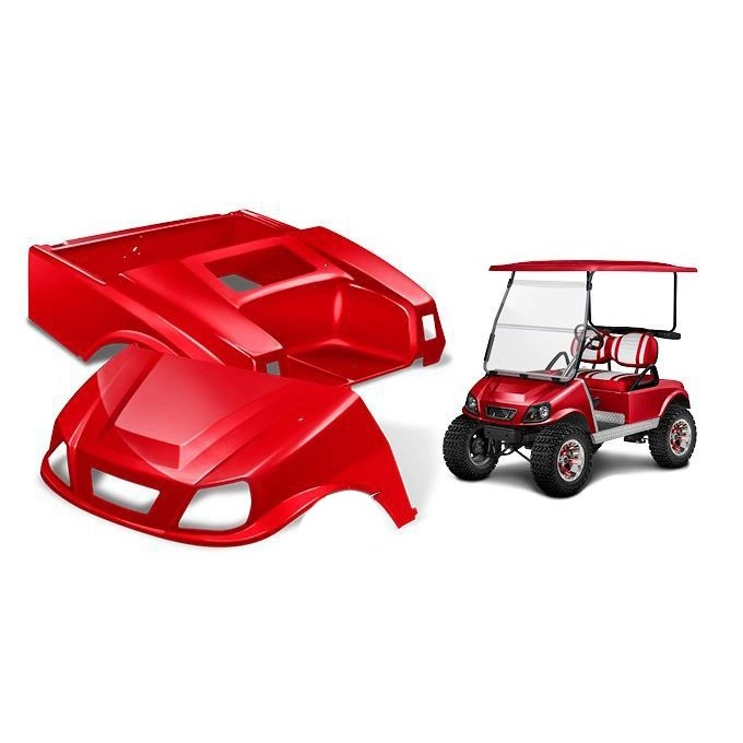 hight resolution of double take club car ds spartan body kit