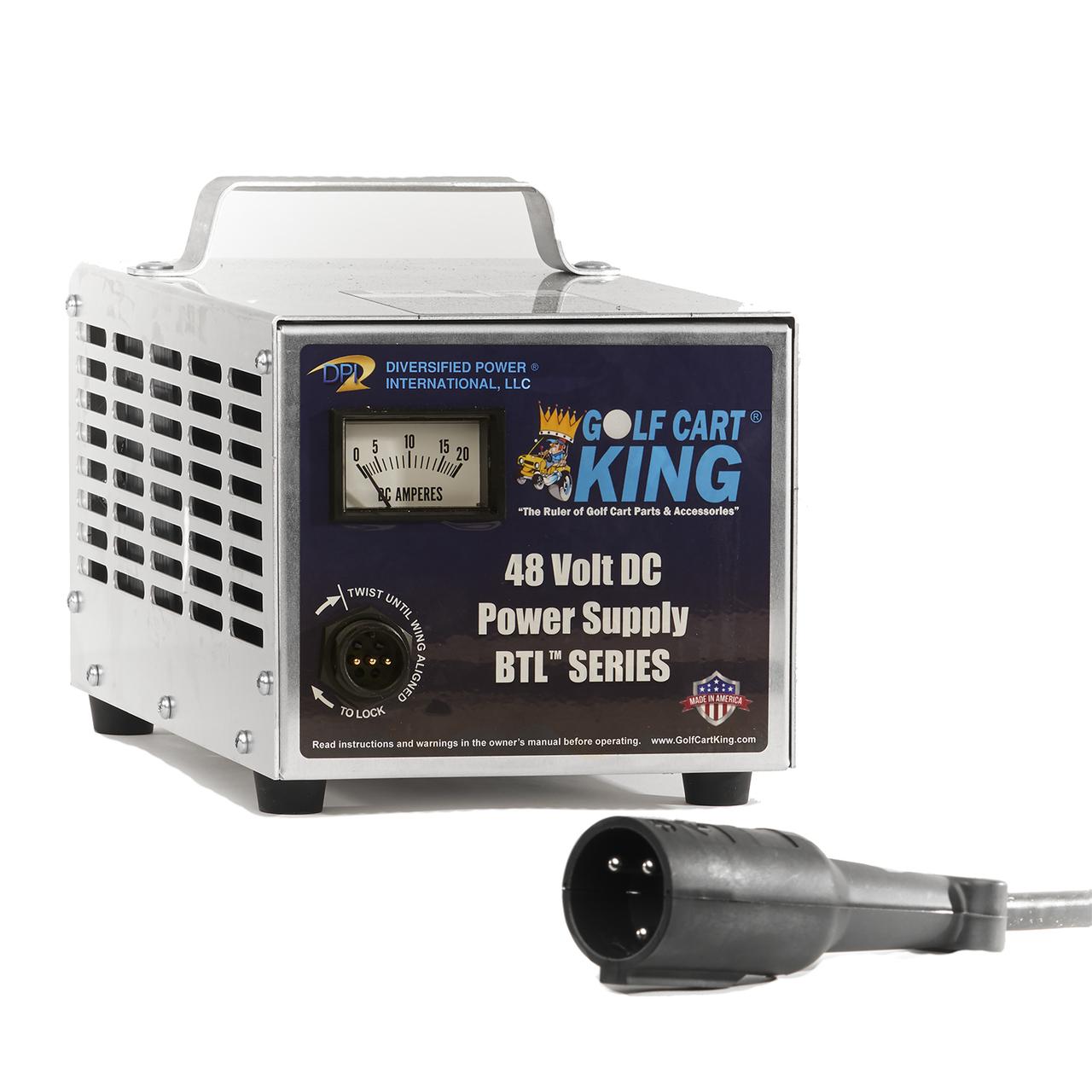 club car dpi charger 48v 15a powerdrive iq 3 pin round handle  [ 1280 x 1280 Pixel ]