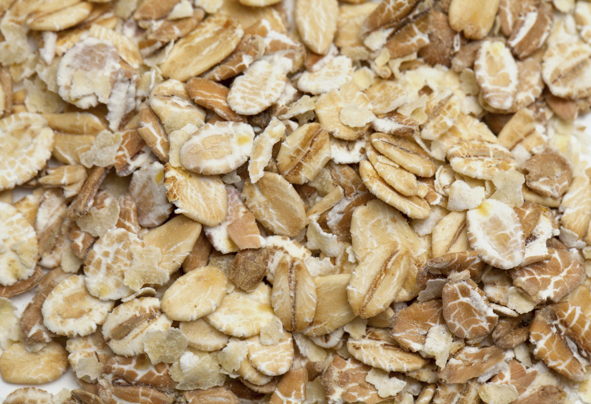 hight resolution of certified organic rolled oats