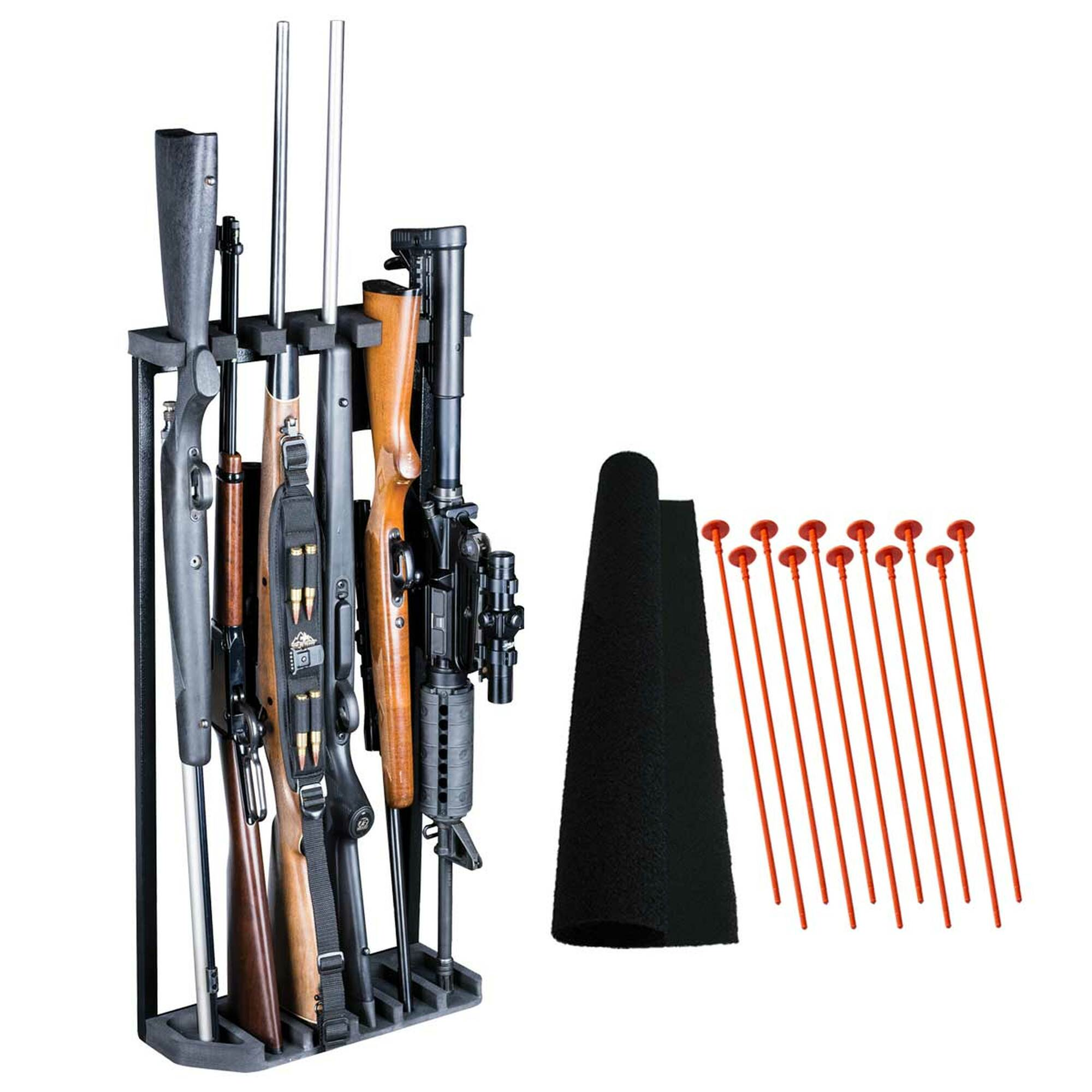 swing out gun rack system 6 gun sor6