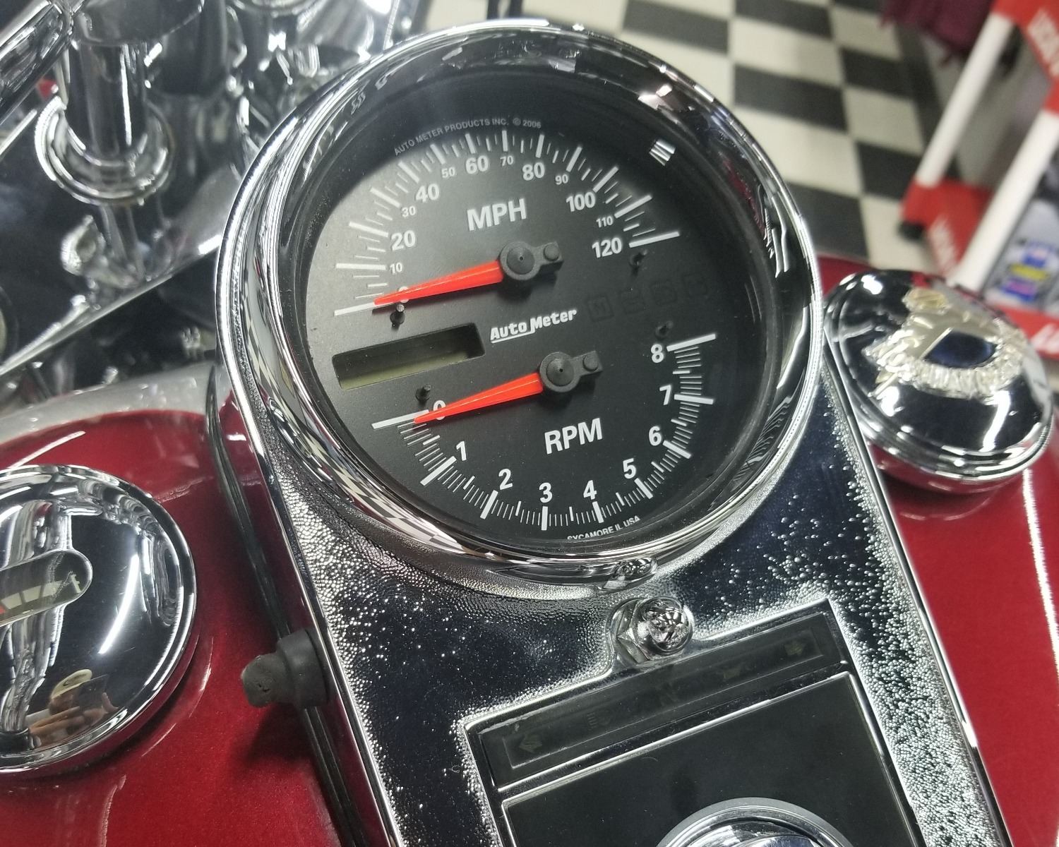 hight resolution of auto meter direct fit tach speedo 19466 dissident custom pro cycle tach wiring motorcycle