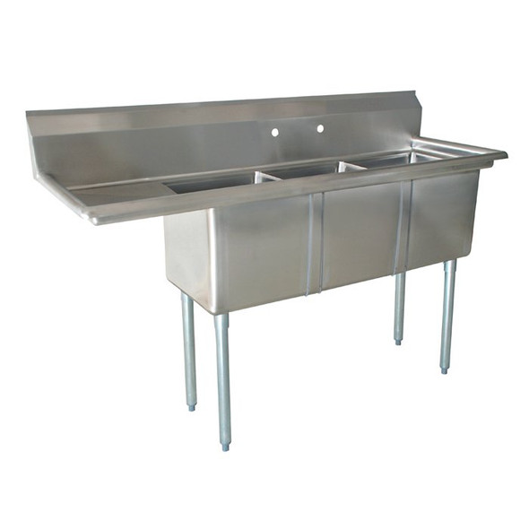 3 compartment sink three compartment