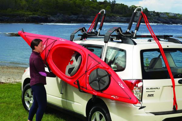 kayak roof rack load assist telos xl