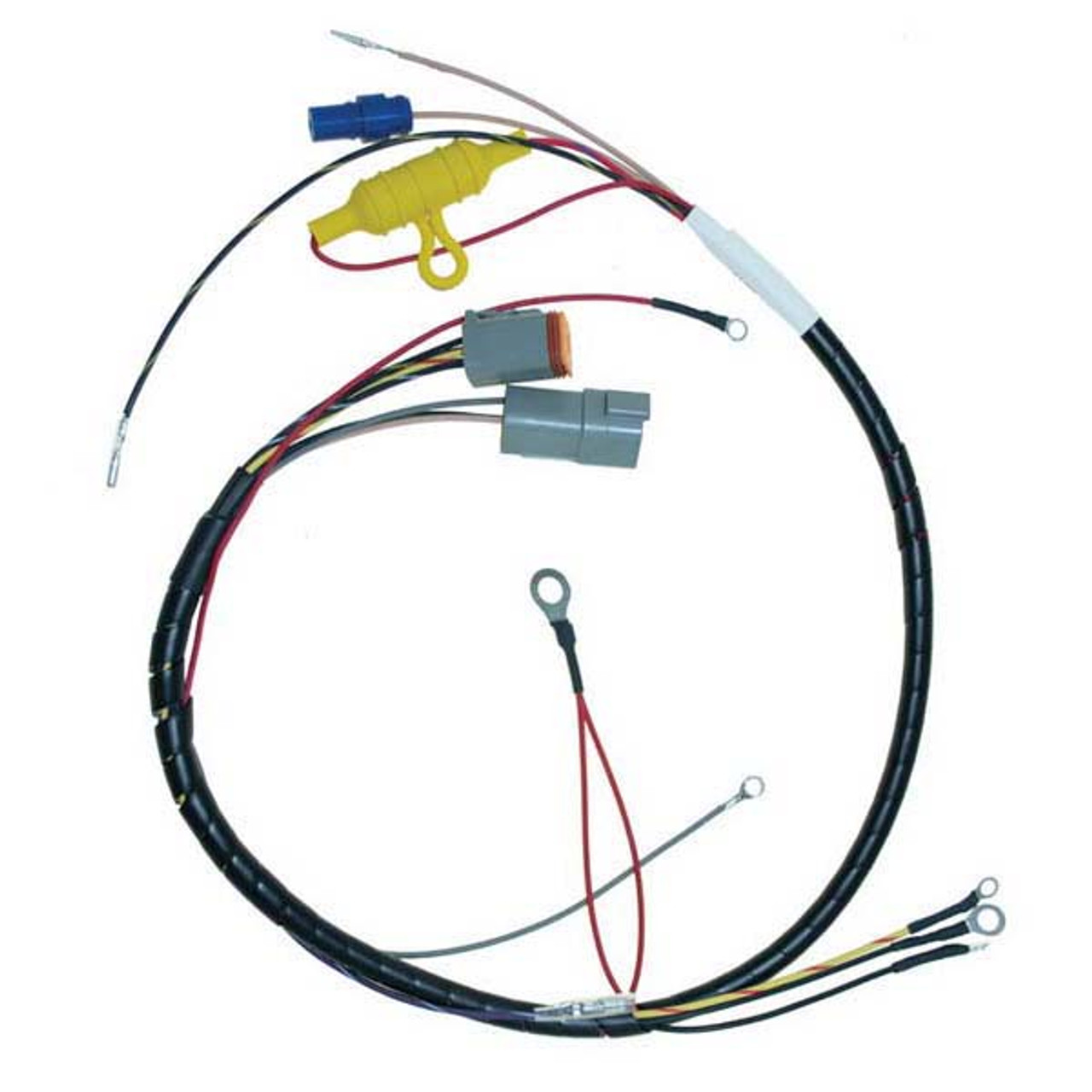 small resolution of wiring harnes for johnson outboard