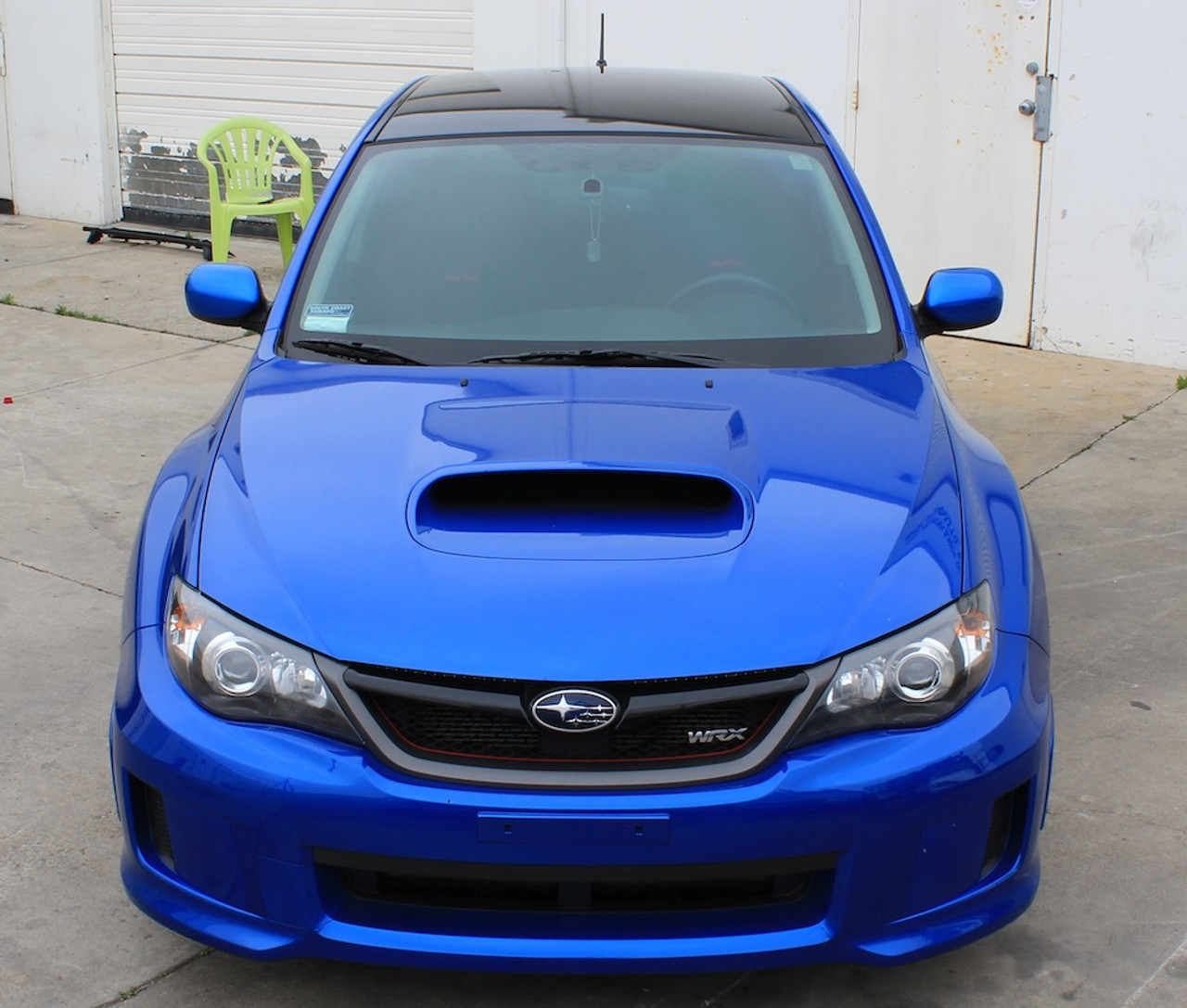hight resolution of  2008 2014 subaru wrx hatchback vinyl roof wrap kit glossy satin carbon