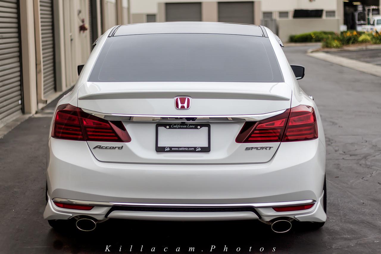 medium resolution of  tail light reverse light insert overlay 2016 2017 honda accord sedan