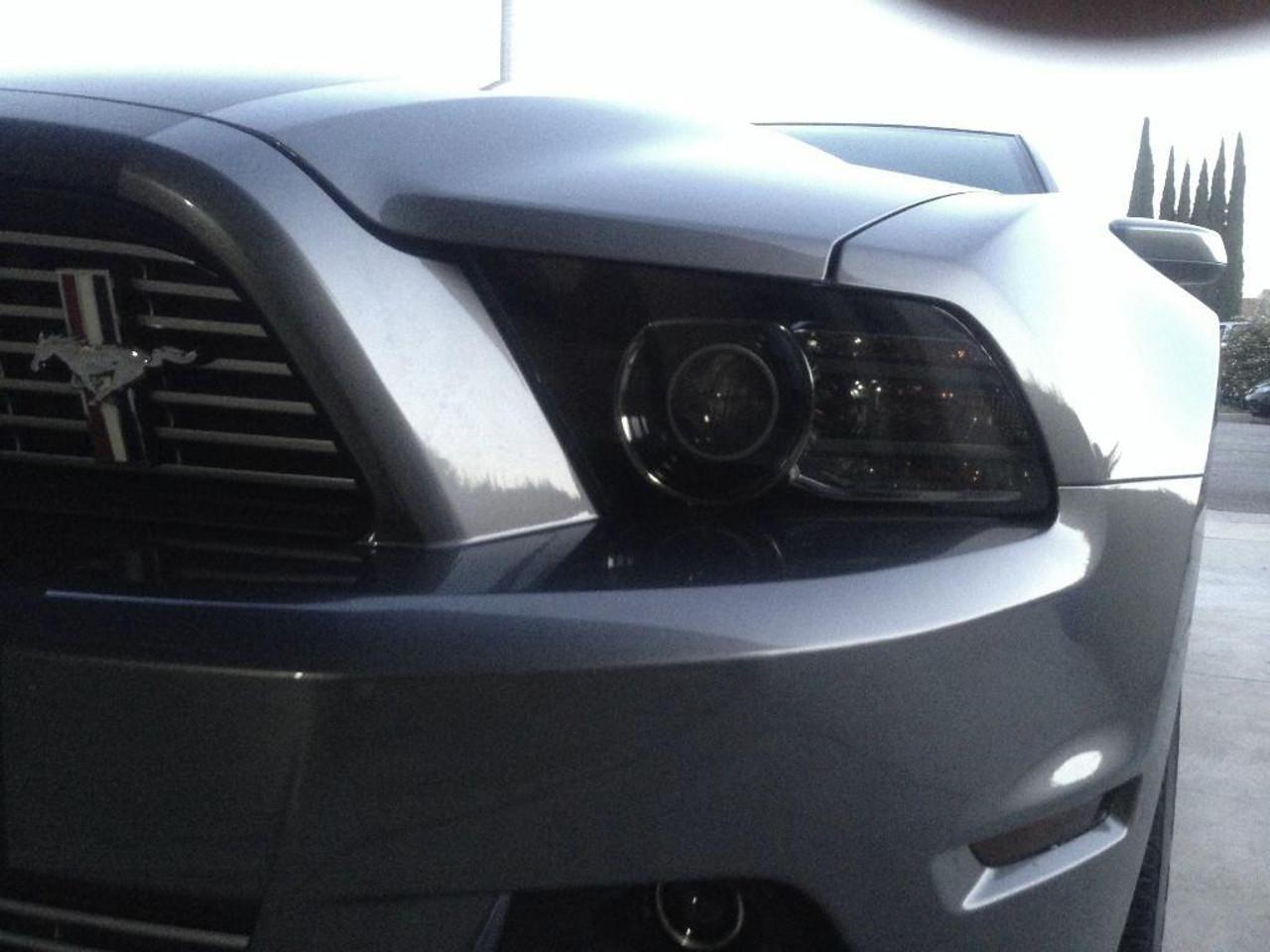 medium resolution of  smoked headlight covers 2010 2014 mustang