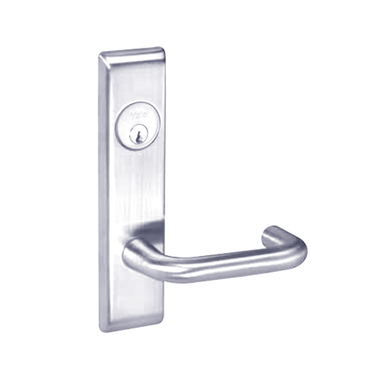 hight resolution of crcn8809fl 625 yale 8800fl series single cylinder mortise classroom w thumbturn locks with carmel lever in bright chrome lock depot inc
